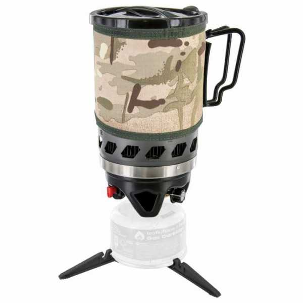 Highlander Kocher Set - Fastboil MKII 1.1 l, schwarz/camo