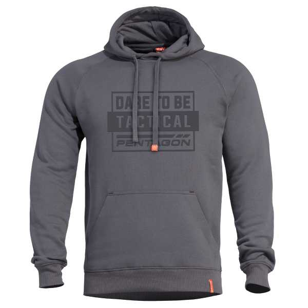 Pentagon Phaeton Hood Sweater cinder grau