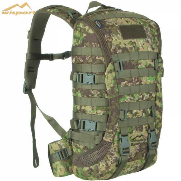 Wisport Zipper Fox 25l Rucksack pencott green zone