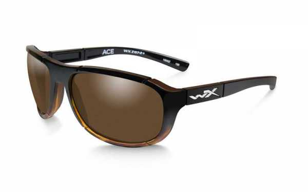 WX Ace Polarized Bronze Gloss Tortoise Fade Frame