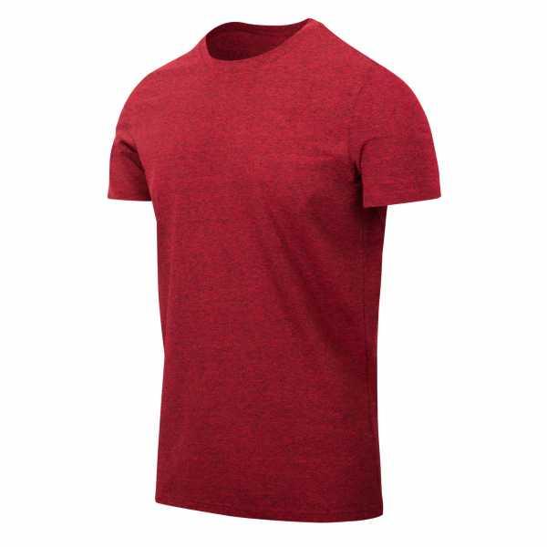 Helikon Tex T-Shirt Slim rot melange