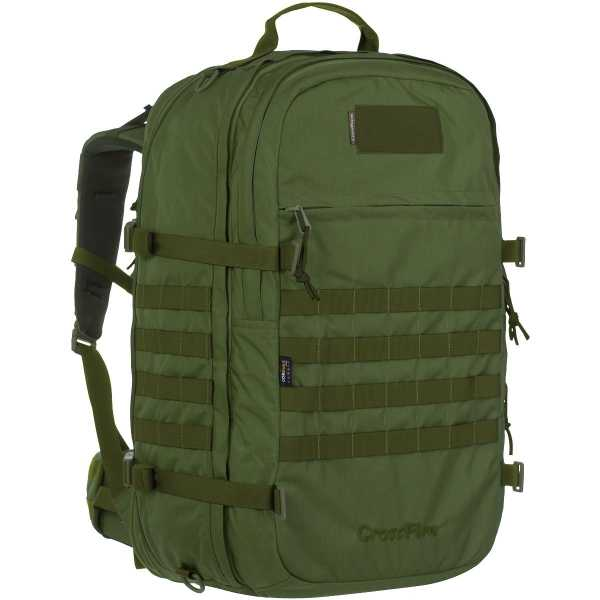 Wisport Crossfire 45-65l Rucksack oliv-grün