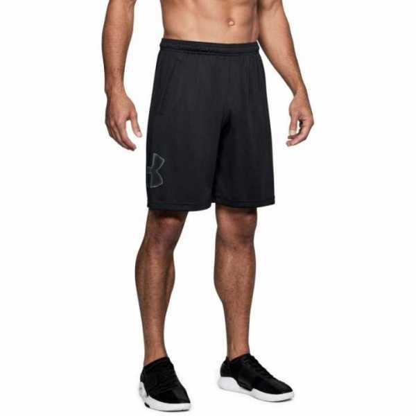 Fitness Short TechTM Graphic 10, schwarz