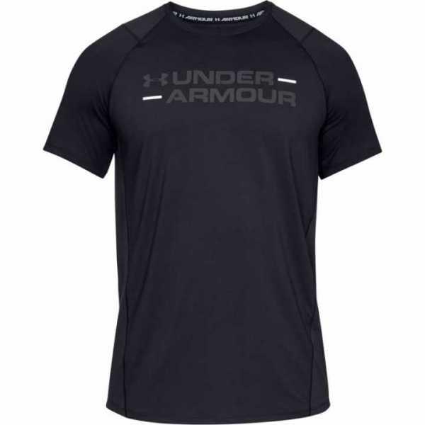 Under Armour Fitness Shirt MK1 Wordmark schwarz