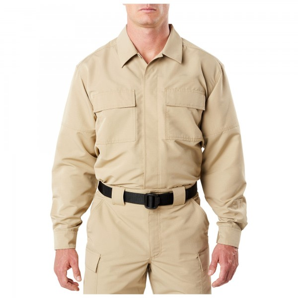 TDU Langarmshirt Fast-Tac khaki von 5.11