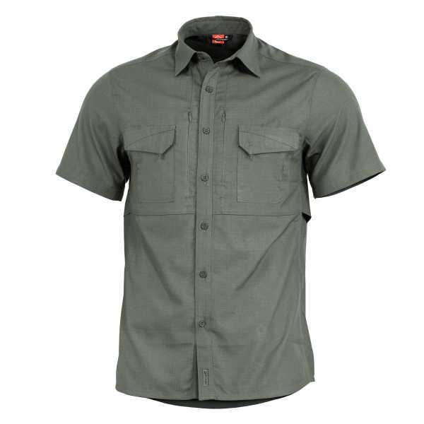 Pentagon Plato kurzarm Polo Shirt camo grün