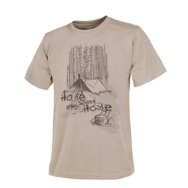 Helikon Tex T-Shirt (Home Sweet Home) khaki