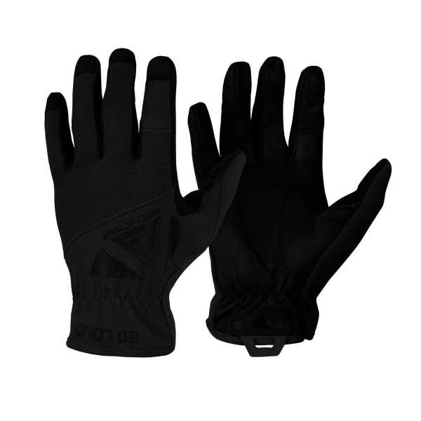 Direct Action Light Leather Gloves black