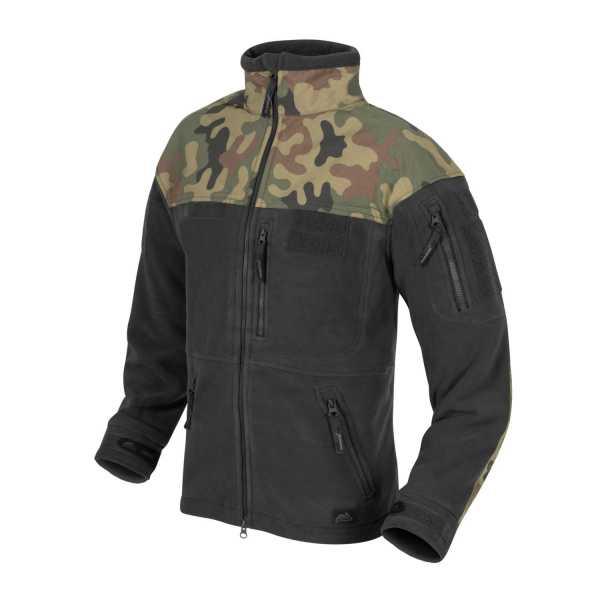 Helikon Tex Polish Infantry Jacket Fleece schwarz / pl woodland