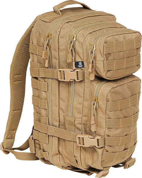 Brandit US Cooper Medium Rucksack coyote