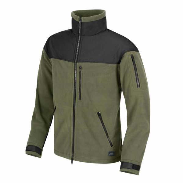 Helikon-Tex Classic Army Fleece Jacke oliv-schwarz