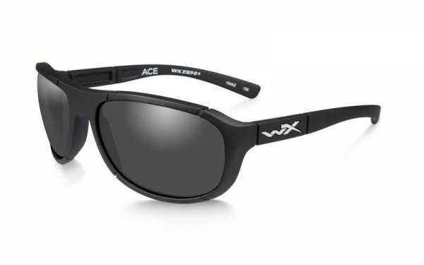 WX Ace Smoke Grey Matte Black
