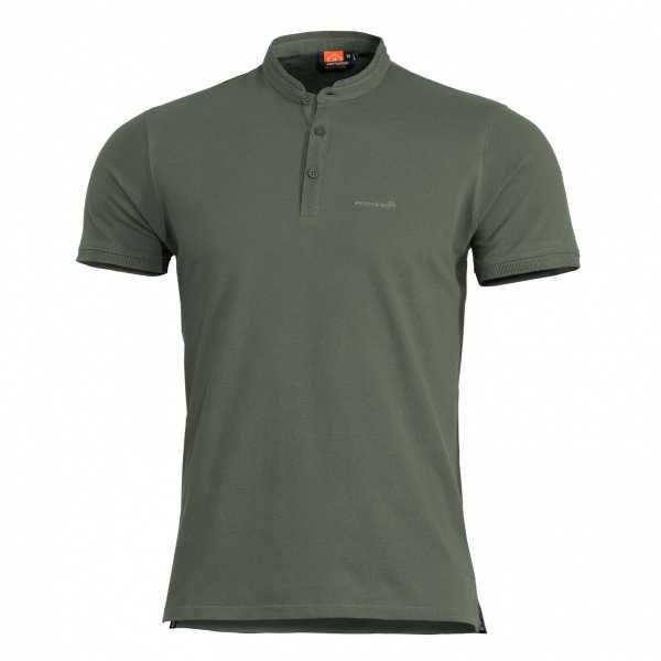 Pentagon Levantes Henley Shirt camo grün