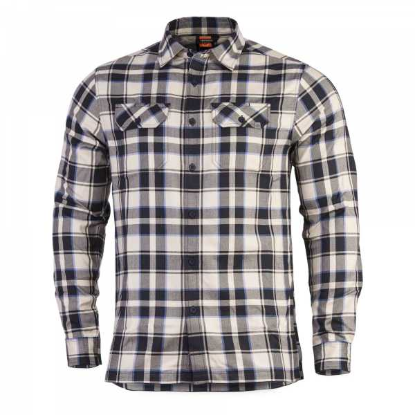 Pentagon Drifter Flannel Shirt white checks
